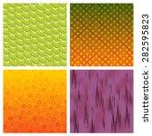 Skin Of Fruit Texture Vector...