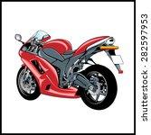 motorcycle | Shutterstock .eps vector #282597953