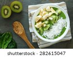 Green Smoothie Bowl With...