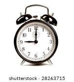 alarm clock   Shutterstock . vector #28263715