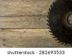 Carpenter Tools On Wooden Tabl...