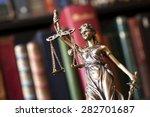 statue of justice | Shutterstock . vector #282701687
