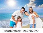 beach  summer  group.   Shutterstock . vector #282707297