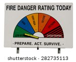 Fire Danger Rating Display...