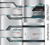 metal background.vector...   Shutterstock .eps vector #282785627
