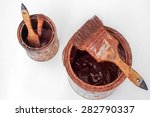 different size of paintbrushes... | Shutterstock . vector #282790337