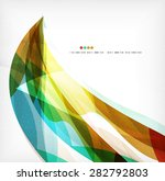 business wave corporate... | Shutterstock .eps vector #282792803