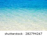 sea surface on the beach with... | Shutterstock . vector #282794267