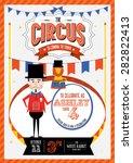 circus carnival  fairground... | Shutterstock .eps vector #282822413