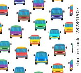 seamless pattern with colored... | Shutterstock .eps vector #282841907