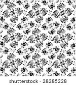 retro pattern   Shutterstock .eps vector #28285228