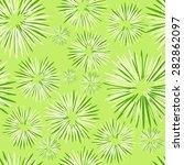 seamless flower background | Shutterstock .eps vector #282862097