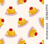 Pudding  Seamless Pattern
