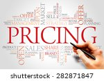 pricing word cloud  business... | Shutterstock . vector #282871847