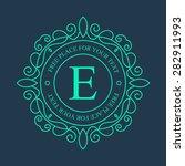 abstract creative concept...   Shutterstock .eps vector #282911993