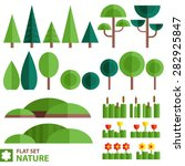 Vector Set Of Nature Icons In ...