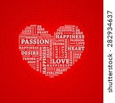 heart collage | Shutterstock .eps vector #282934637