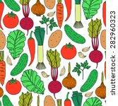 seamless vector pattern... | Shutterstock .eps vector #282960323