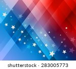 fireworks background for 4th of ... | Shutterstock .eps vector #283005773