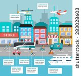 Transportation Infographic Wit...