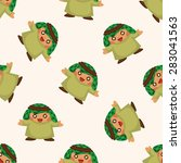 arabian  seamless pattern | Shutterstock .eps vector #283041563