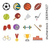 sport icon | Shutterstock .eps vector #283094327