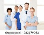 international  profession ... | Shutterstock . vector #283179053