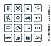 car icons universal set for web ... | Shutterstock .eps vector #283188377