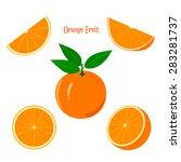 Orange Fruit. Orange Fruit And...