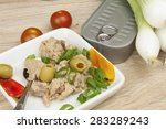 can of tuna  a healthy meal...