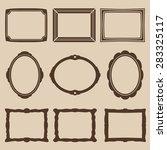 frame icons | Shutterstock .eps vector #283325117