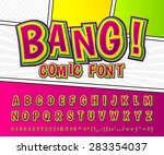 Creative High Detail Comic Fon...