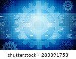 digital abstract business...   Shutterstock . vector #283391753