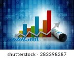 business graph   Shutterstock . vector #283398287
