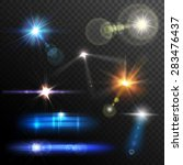 Realistic Lens Flares Beams An...