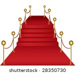 red carpet concept v2 vector... | Shutterstock .eps vector #28350730