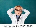 child  intelligence  little... | Shutterstock . vector #283517033