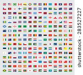 flags of the world set... | Shutterstock . vector #283527227