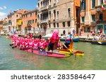 venice  italy   may 24  2015 ... | Shutterstock . vector #283584647
