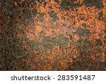 old rusty abstract background | Shutterstock . vector #283591487