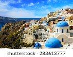 Santorini  Greece   August 07 ...