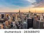 new york city midtown skyline | Shutterstock . vector #283688693