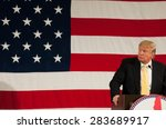 Donald Trump Speaks At The...