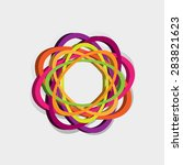 abstract symbol | Shutterstock .eps vector #283821623