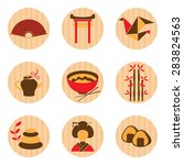 japan icon sets | Shutterstock .eps vector #283824563