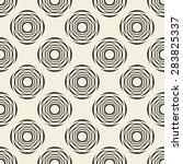 vector seamless pattern. modern ... | Shutterstock .eps vector #283825337