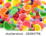 An Assortment Of Colorful Cand...