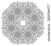 Hand Drawing Zentangle Element...