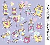 baby life   Shutterstock .eps vector #283948247