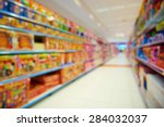 natural bokeh shopping mall toy ... | Shutterstock . vector #284032037